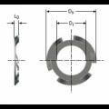 Arandela elástica de presión ref: 7482