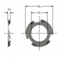 Arandela elástica de presión ref: 7494