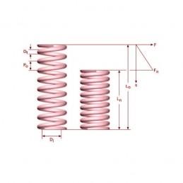 Muelle de Compresión M01LE3080