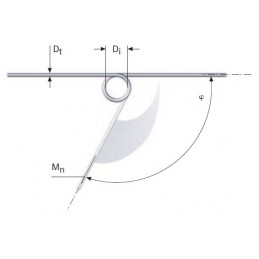 Muelle torsion s/DIN 2089 M06LE7108
