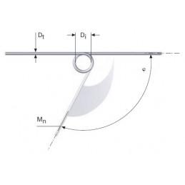 Muelle torsion s/DIN 2089 M06LE7402