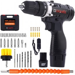 Drill Screwer 12V, GOXAWEE...