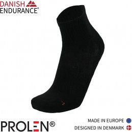 Danish endurance Quarter Sports Socks, for Men and Women