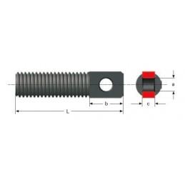 Conexión para muelle de tracción M21LE4660