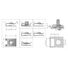 GRAPA ELASTICA CON ROSCA M31LE7550