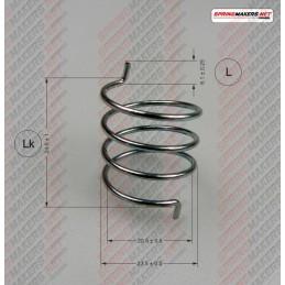 Lock lever spring M38MFPF2145