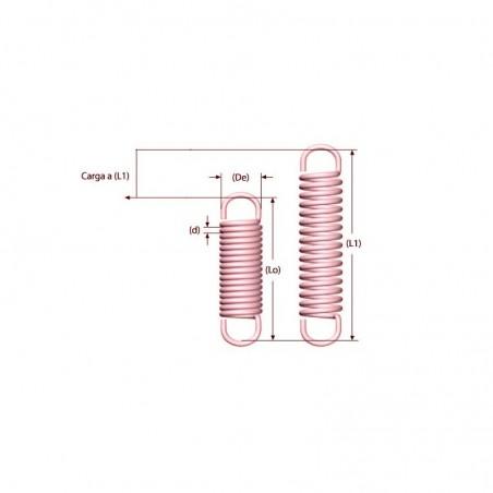 Tension spring M02MC2310065