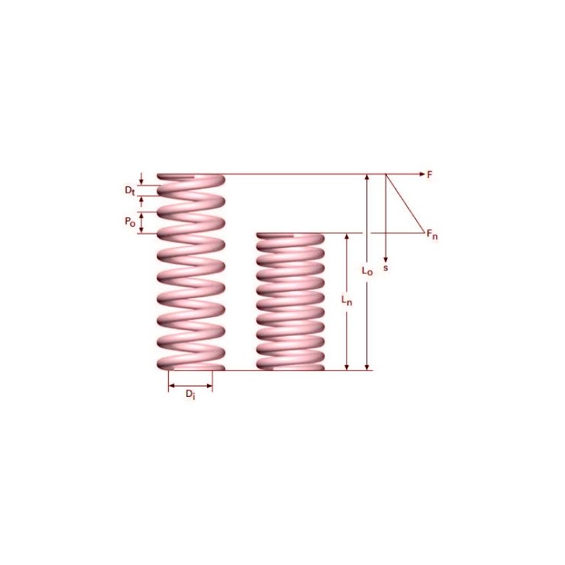 Muelle de compresion M01MC3040135