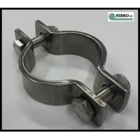 PIPE CLAMPS WITH SCREW AND NUT